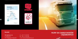 Zastosowanie filtrów PZL Sędziszów w samochodach ciężarowych