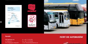 Zastosowanie filtrów PZL Sędziszów w autobusach